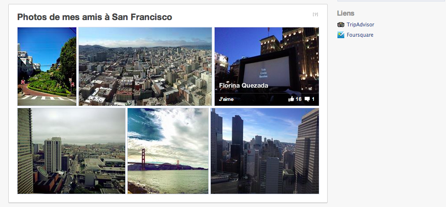 My real social network - photos amis - facebook- san francisco