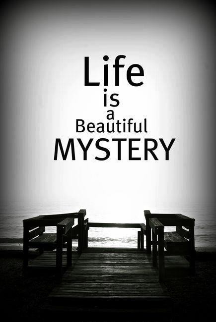 life beautiful mystery, my real social network