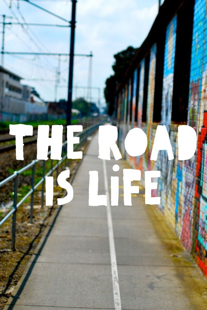 the road is life - My real social Network